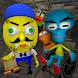 Sponge Neighbor's Hospital. Scary Friends Escape