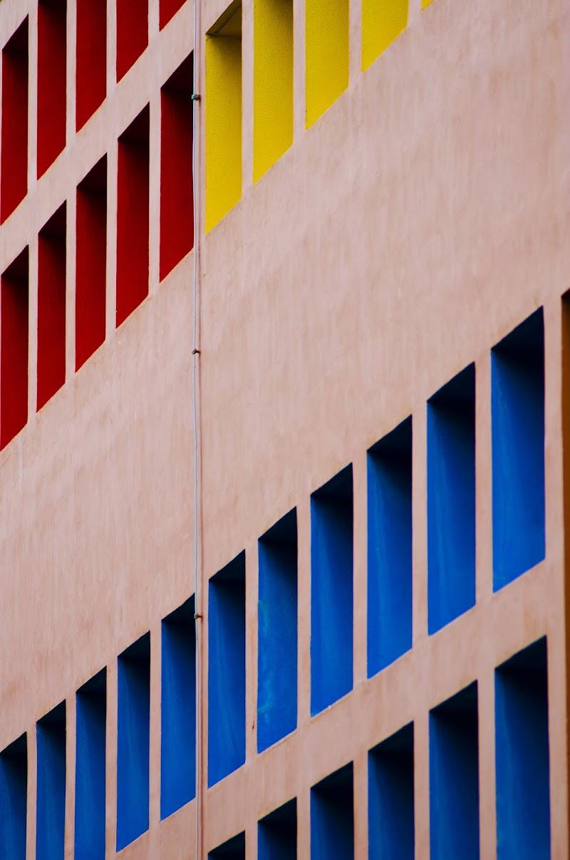 L'ordine dei colori nell'architettura di Daniela Denaro