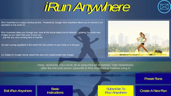 iRun Anywhere ... In The World On The Treadmill - náhled