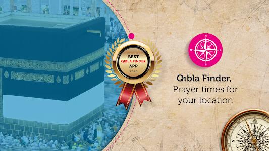 Qibla Finder, Prayer Times, Azan, Tasbeeh Counter 2.1.1