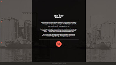 Photo: Site of the day 15 October 2012 http://www.awwwards.com/web-design-awards/the-exit-zero-project