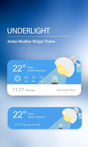 Weather Widget on Homescreen