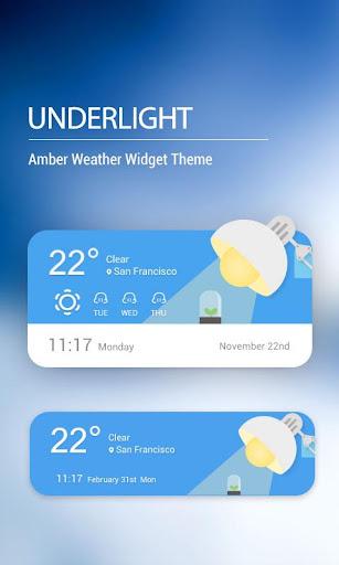 Weather Widget on Homescreen