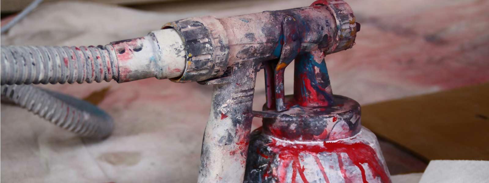 Резултат слика за paint sprayer dirty