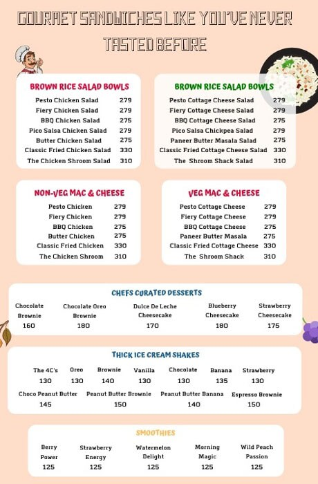 Wicked Wiches menu 2