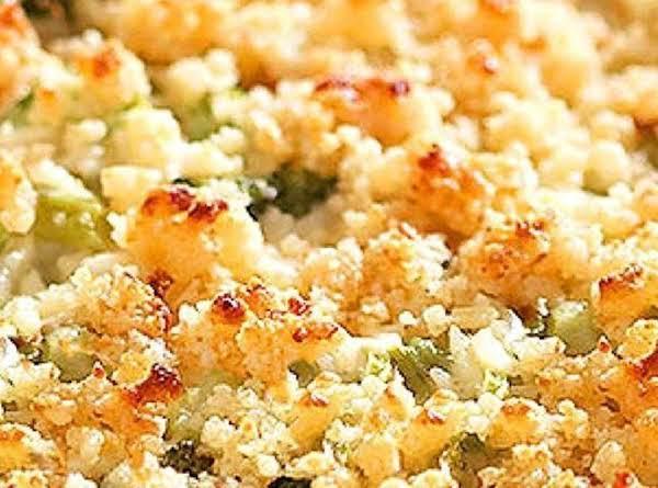 Rice And Brocolli Casserole