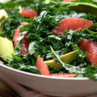 Kale and Pink Grapefruit Salad