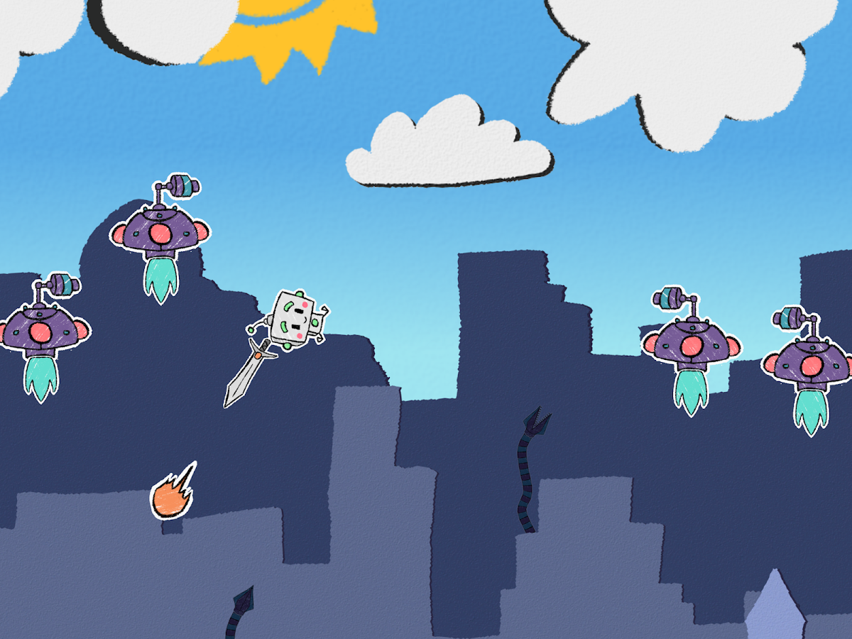 Rocket Rascal- screenshot