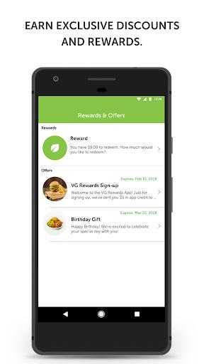 VG Rewards screenshot