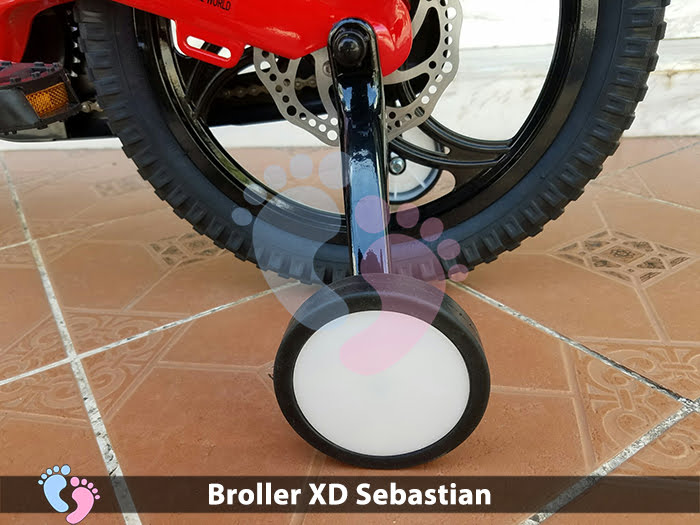 Xe đạp cho bé Broller XD Sebastian 12