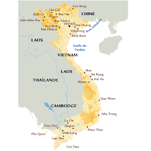 Photo: VIETNAM carte