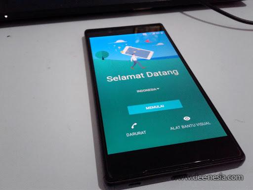 Proses flashing Nougat 7.1.1 ke Sony Xperia Z5 dual E6683 selesai.