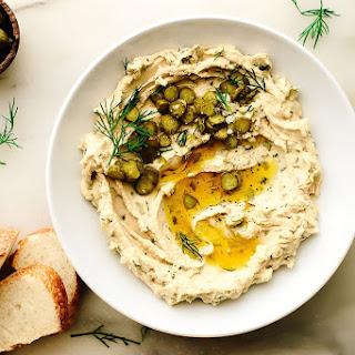 Dill Pickle Hummus.