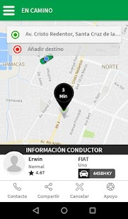TaxiNet Pasajero - náhled