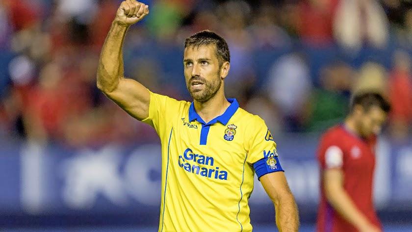 David García es el gran capitán de Las Palmas.