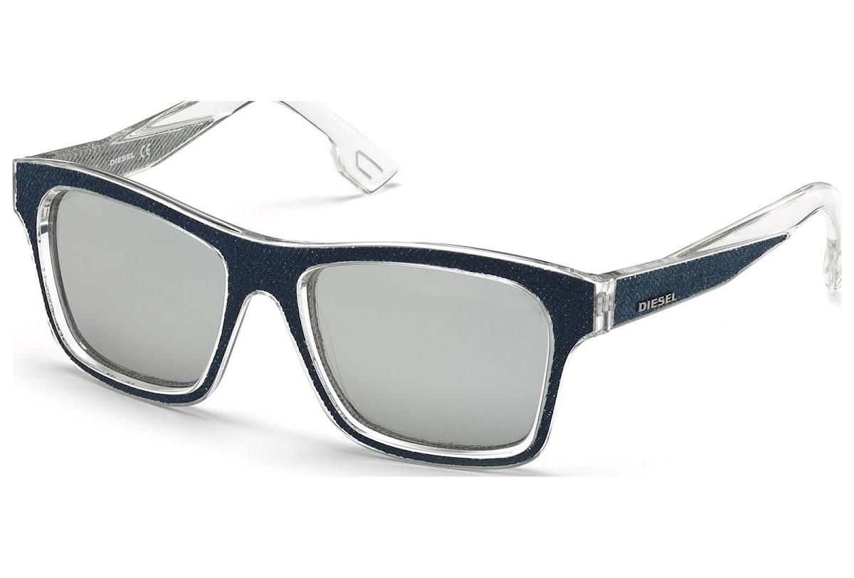 Comprar Gafas de sol Diesel DL0071 C55 27C (crystal other   smoke mirror)    Blickers 876553cf97