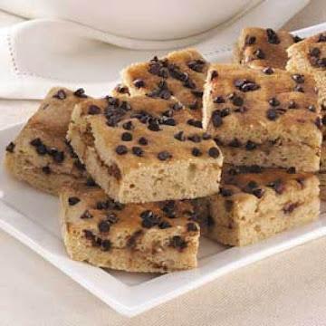 Choc Chip Snack Cake Recipe