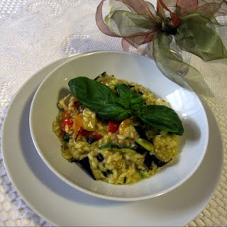 Roasted Vegetable and Tofu Risotto