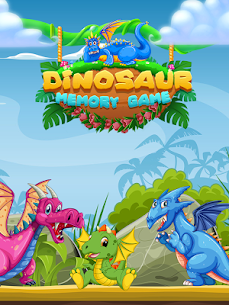 Dinosaur Match Card 1.0.4 Mod APK Updated Android 1