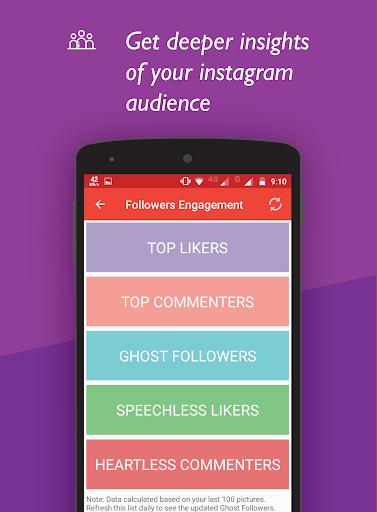 Unfollowers for Instagram, Follow Cop 4.5.1 screenshots 4