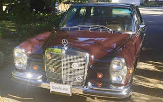 Mercedes 280s Rent California