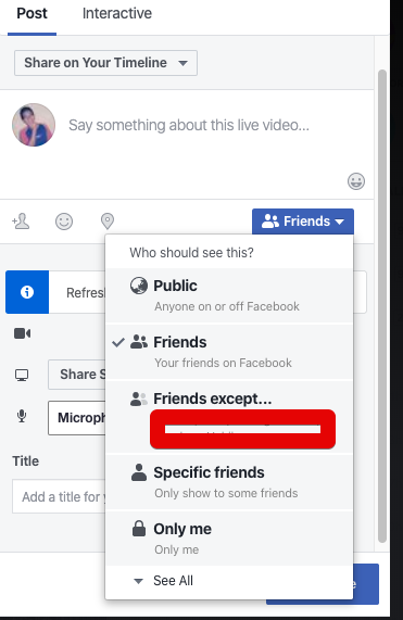 Cara mudah siaran langsung di Facebook