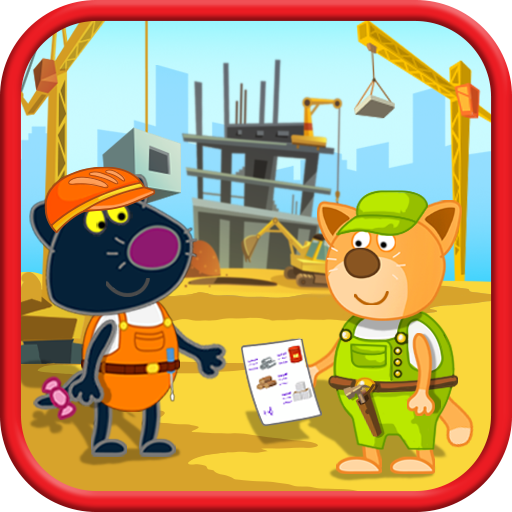 Hippo builder. Building machines