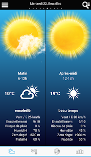 Weather for Belgium - screenshot thumbnail