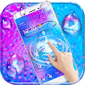 Colorful Waterdrop Theme Wallpaper icon
