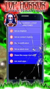 Top Horror Latest Ringtones screenshot 2