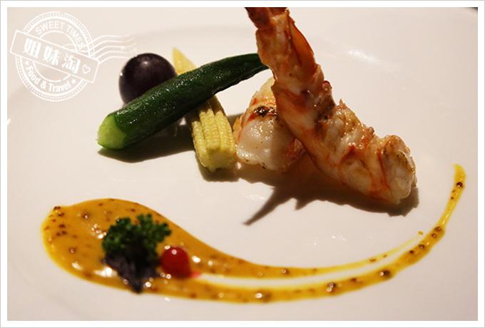 家蒂諾鐵板燒-野生大明蝦