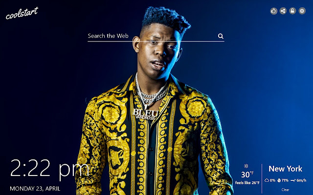 Yung Bleu HD Wallpapers Hip Hop New Tab Theme