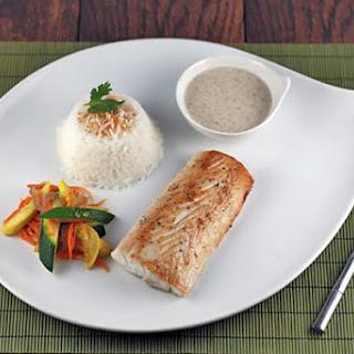Tahitian Mahi Mahi with Vanilla Sauce