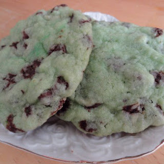 Grasshopper Chocolate Chip Cookies