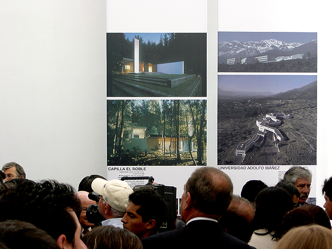 Photo: IV Bienal Iberoamericana / Lima / 2004 / Capilla El Roble