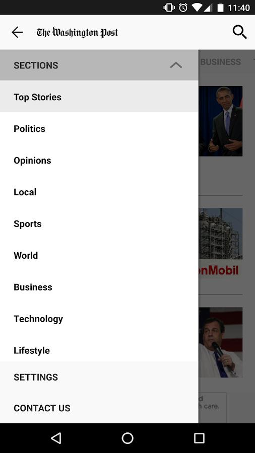 The Washington Post Classic- screenshot