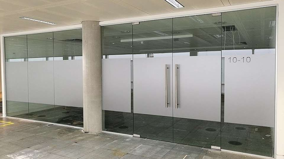 used toughened glass partitions for sale