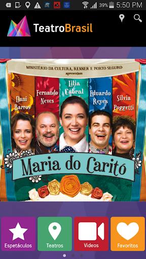App Teatro Brasil