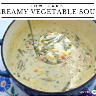 Low Carb Creamy Vegetable Soup.