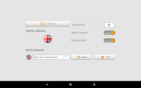 Learn English words with Smart-Teacher Screenshot