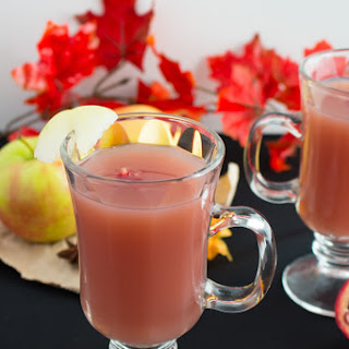 Pomegranate Apple Cider.
