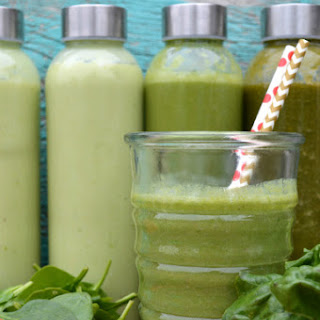Pineapple Express Paleo Green Smoothie.