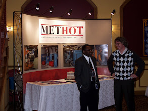 Photo: Methot displayed various boiler products