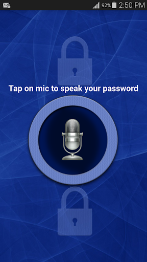 Voice Screen Lock