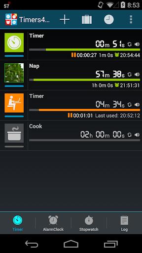 Timers4Me screenshot 1