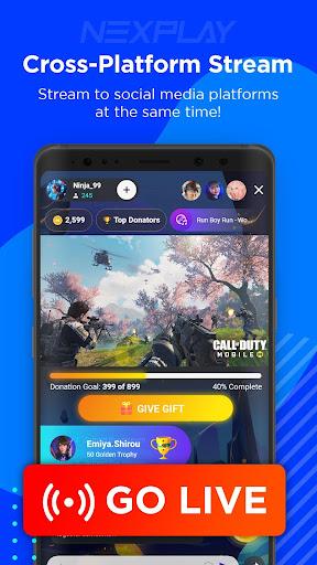 NEXPLAY - Mobile Live Streaming 2.10.32 screenshots 4