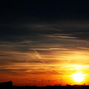 Lovely Sunset by Jens Klappenecker-Dircks - Landscapes Sunsets & Sunrises