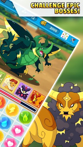 Dynamons Evolution Puzzle & RPG: Legend of Dragons 1.1.1 Cheat screenshots 4