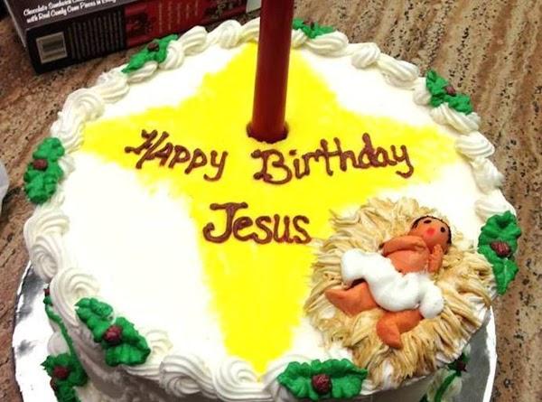 Happy Birthday Jesus Cake Recipe