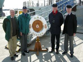 Photo: The Exeter Flotilla representatives